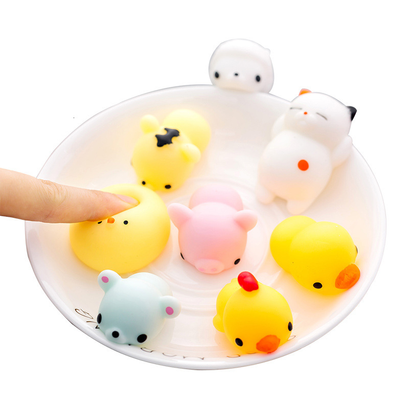 Lovely Animal Funny Ball Pressure Wreak Reduce Anti-Stress Toy Decompression Tricky Vent The Ball