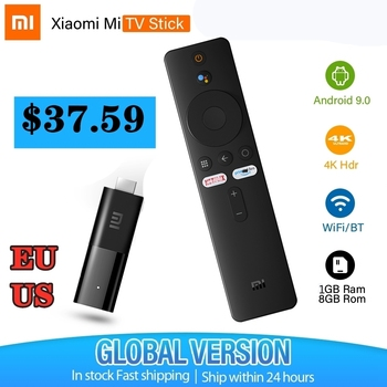 MI TV – Xiaomi Mi TV Stick Box Android for youtube chromecast spotify 2K HDR HDMI BT 5G Wifi Display Dongle Google Assistant EU at 37.59