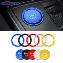 New Car Engine Start Stop Styling Accessories Ignition Push Cover Rings Case For Ford Peugeot 5008 3008 408 508l 2008 308 4008