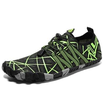 Lekkie buty do wody antypoślizgowe męskie profesjonalne buty do wody w Trekking buty trekkingowe szybkoschnące plażowe sporty wodne trampki tanie i dobre opinie MAIJION CN (pochodzenie) Dobrze pasuje do rozmiaru wybierz swój normalny rozmiar Spring2019 elastyczna opaska Początkujący