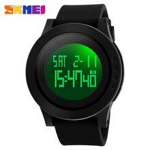 SKMEI Brand 1142 Watch Men Military Sports Watches Fashion Silicone Waterproof LED Digital Watch For Men Clock digital-watch цена 2017