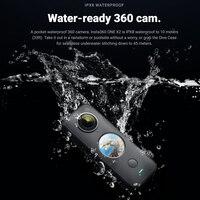 Insta360 one x2 sport panoramic action camera insta 360 one x2 5.7k video 10m waterproof  flowstate stabilization 1630mah camera
