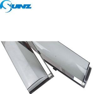 Image 4 - Janela lateral defletores para honda civic 2006 2007 2008 2009 2010 2011 janela escudo capa janela viseira ventilação sombra sunz
