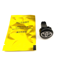 цена на Car-Styling car air freshener Emblems Case for toyota camry chr corolla rav4 yaris prius Accessories Car-Styling