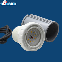 5W Swimming Pool Light LED ip68 Waterproof Led Piscine SMD5730 DC 12V Underwater Light Warm Cold White Blue Fontaine Piscine