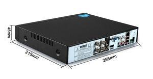 Image 3 - Czerwony Panel Hi3521D Xmeye Audio 4K 8MP 4CH 4 kanałowy H.265 + hybrydowy 6 w 1 XVI TVI CVI NVR AHD CCTV DVR nadzór wideorejestrator