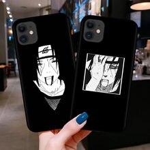 Naruto Silikon Phoen Fall Für iPhones 12 Mini 11 Pro Max XR X 7 8 6 6s Plus Cartoon anime akatsuki Weiche Matte Telefon Abdeckung Coque