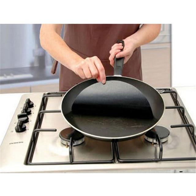 Cooking Baking Mats Liners Twin pack Pan Mat 2 pc Non-stick round pan liner sheet  Kitchen Dining Bar Bakeware