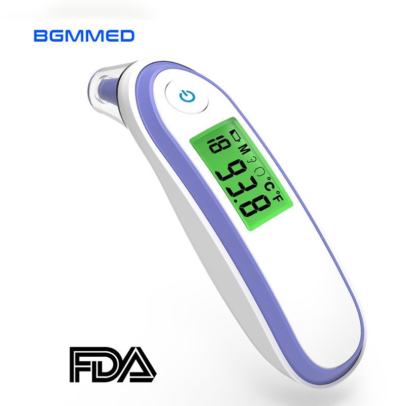Medical Digital Infant Infrared Thermometer Baby Ear Forehead Fever Thermometer Alarm With Child & Adult CE Approved