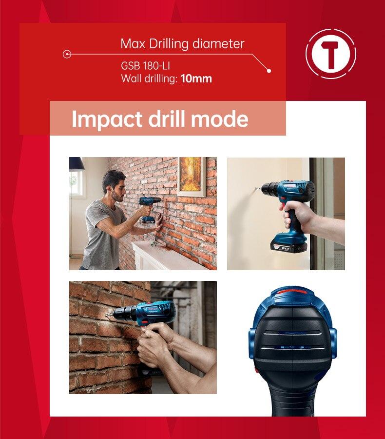 impact drill mode
