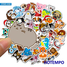 цена на 50pcs kawaii Animal Cartoon Cute stickers for kids Girl Children Teacher School Gift DIY Letter Diary Scrapbooking Stickers