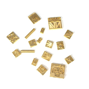 Image 3 - Sello de cuero con logotipo personalizado, molde de calefacción de molde de relieve con letras, sello de Metal, piel de hierro