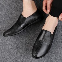 Genuine Leather Casual Loafers Men Fashion Men Shoes Casual Moccasins Fires Male Driving Shoes Leisure Flats Male Loafers HC 623