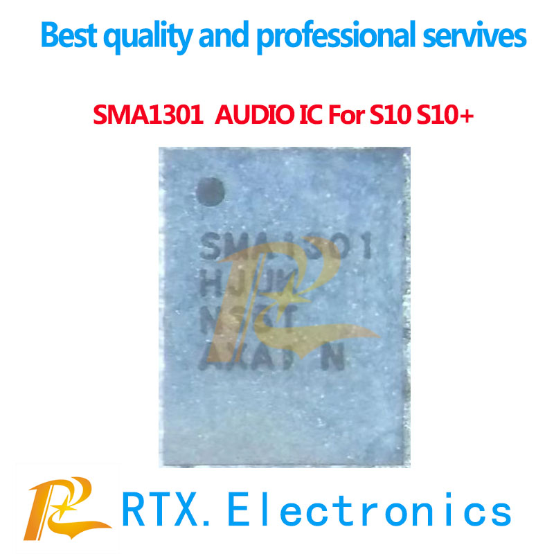 1-10pcs Original New SMA1301 Audio IC For Samsung S10 S10+ G970 G973 G975 A105F Ring Audio Codec Sound Control Chip Replacement