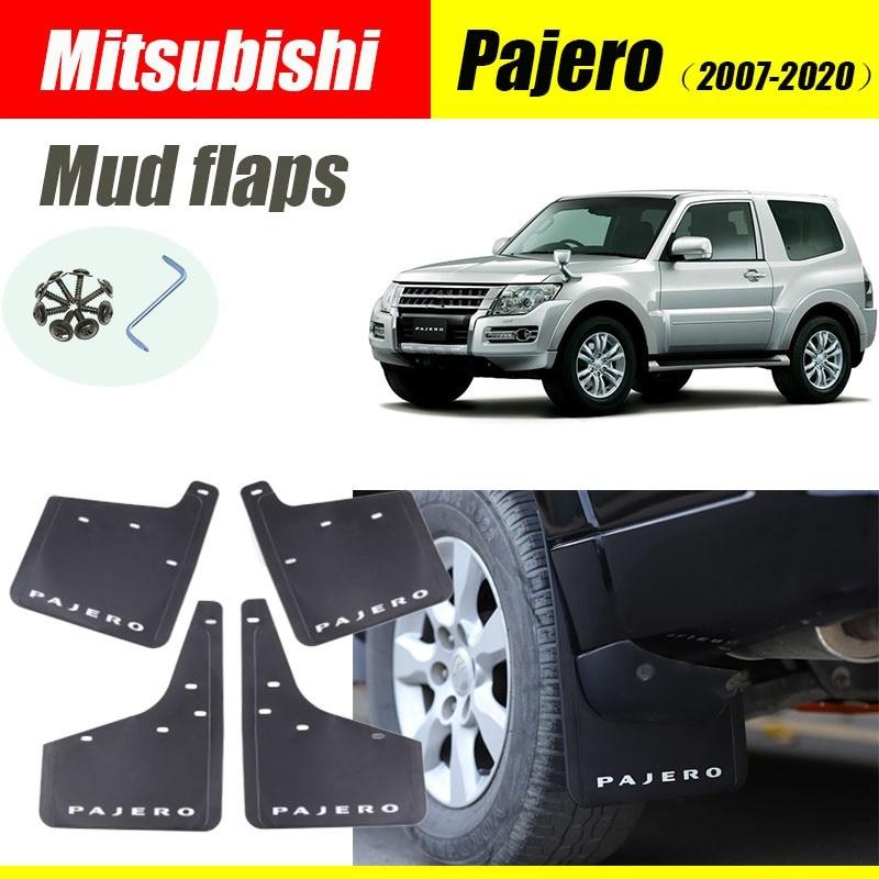 Брызговики для Mitsubishi Pajero, 4 шт., 2007-2020