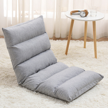 Chair Sofa Removable Tatami Bedroom Velvet Living-Room Fabric-Cover Linen Casual Update