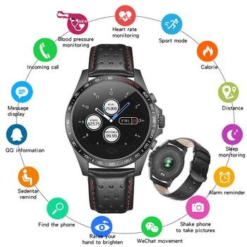 SANDA Sport Pedometer Smart Watch IP68 Waterproof Fitness Tracker Heart Rate Monitor Women Clock Smartwatch For IOS Android