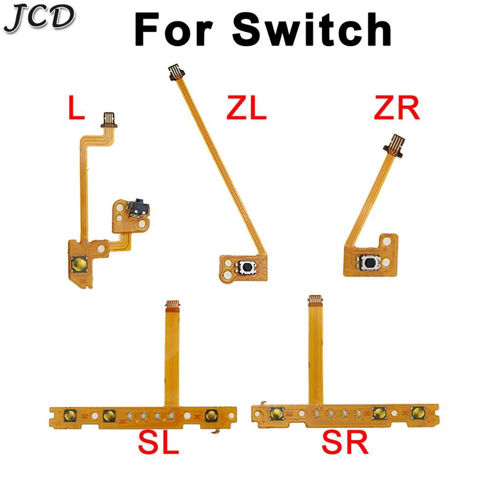 JCD SL SR Button Ribbon For Nintendo Switch Joy-Con Replacement Part ZR/ZL L Button Key Ribbon Flex Cable