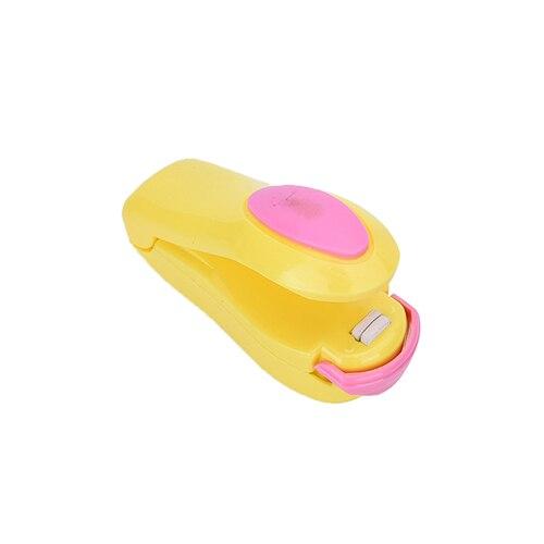 Portable Bag Clip Household Plastic Package Resealer Food Vacuum Sealer Handheld Mini Electric Heat Sealing Machine Seal Packing