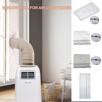 Placa de sellado de aire acondicionado para ventana 3 m/4m/5,6 m, cubierta...