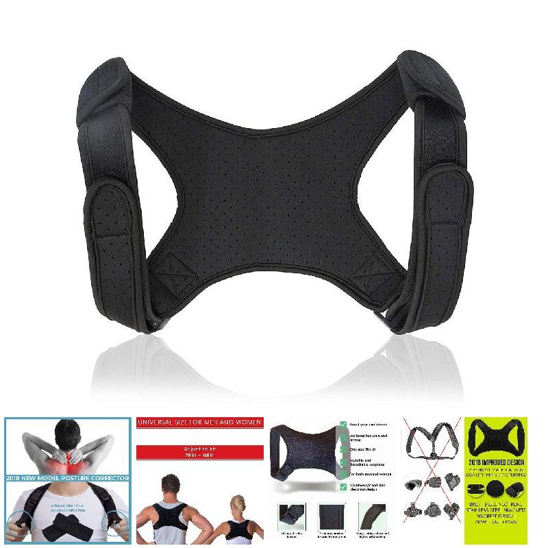 Posture Corrector Adjustable Back Fracture Support Men/women Back Clavicle Spine Shoulder Correction Brace Belt Strap Body Care