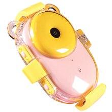 Цифровая Спортивная Slr камера для детей с водонепроницаемым ЖК-экраном Hd разрешение зум вспышка дети дайвинг камера