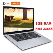 15.6 inch Laptop 8G RAM 512G 256G 128G SSD Intel j3455 Quad Core Student Computer