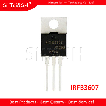 10Pcs IRFB3607 TO220 IRFB3607PBF To 220 Nieuwe En Originele Ic|lot lot|lot 5pcs  -