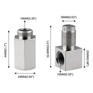 Image 5 - Yetaha 90 Degree Engine Light CEL Eliminator With Mini Catalytic Converter For Most M18 X 1.5 Thread O2 Oxygen Sensor Spacers