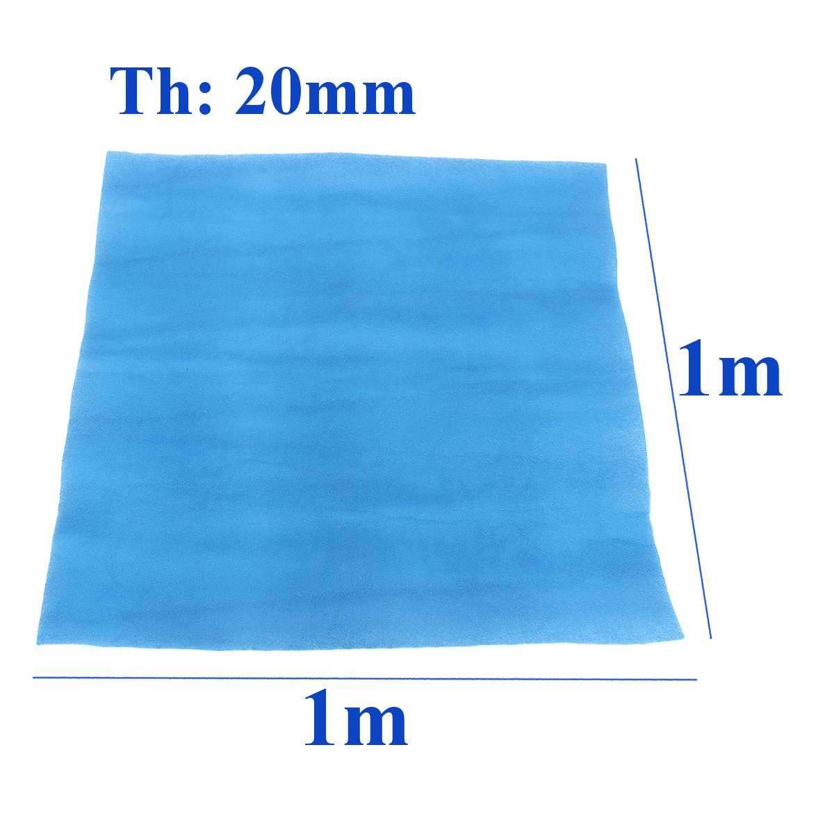 New 1 Roll Polyester Fiber Air Filter 20mm Thickness Paint Shop Car Spray Booth Air Filter Material Extraction Panel Waterproof