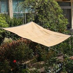 2.2m parasol przeciwsłoneczny żagiel odkryty camping Patio słońce schronienie ogród markiza tarasowa ochrony przeciwsłonecznej anty-uv