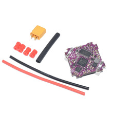 Supra-F4-12A V1.0 F411 F4 Flight Controller AIO OSD BEC & 12A BL_S 2-4S 4In1 ESC for RC Drone FPV Racing Quadcopter UFO-85X flycolor raptor s tower 4 in 1 12a blheli s esc 2 3s speed controller with osd no osd 20mm 20mm for rc mini drone quadcopter