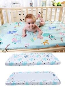 Baby Bed Mattress-Covers Bedding-Set Cot-Sheet Crib Soft Newborn Infant Mini Kids Print