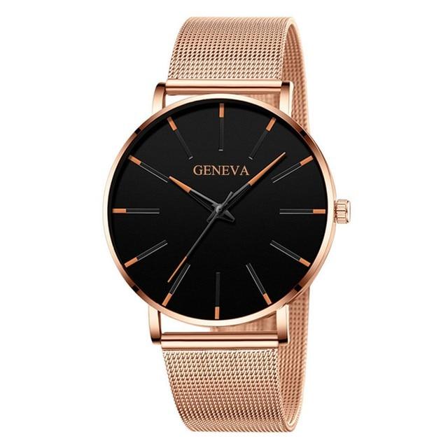 Men's Watch Sports Minimalistic Watches For Men Wrist Watches Stainless Steel Quartz Wrist Watch Male Clock reloj hombre relogio