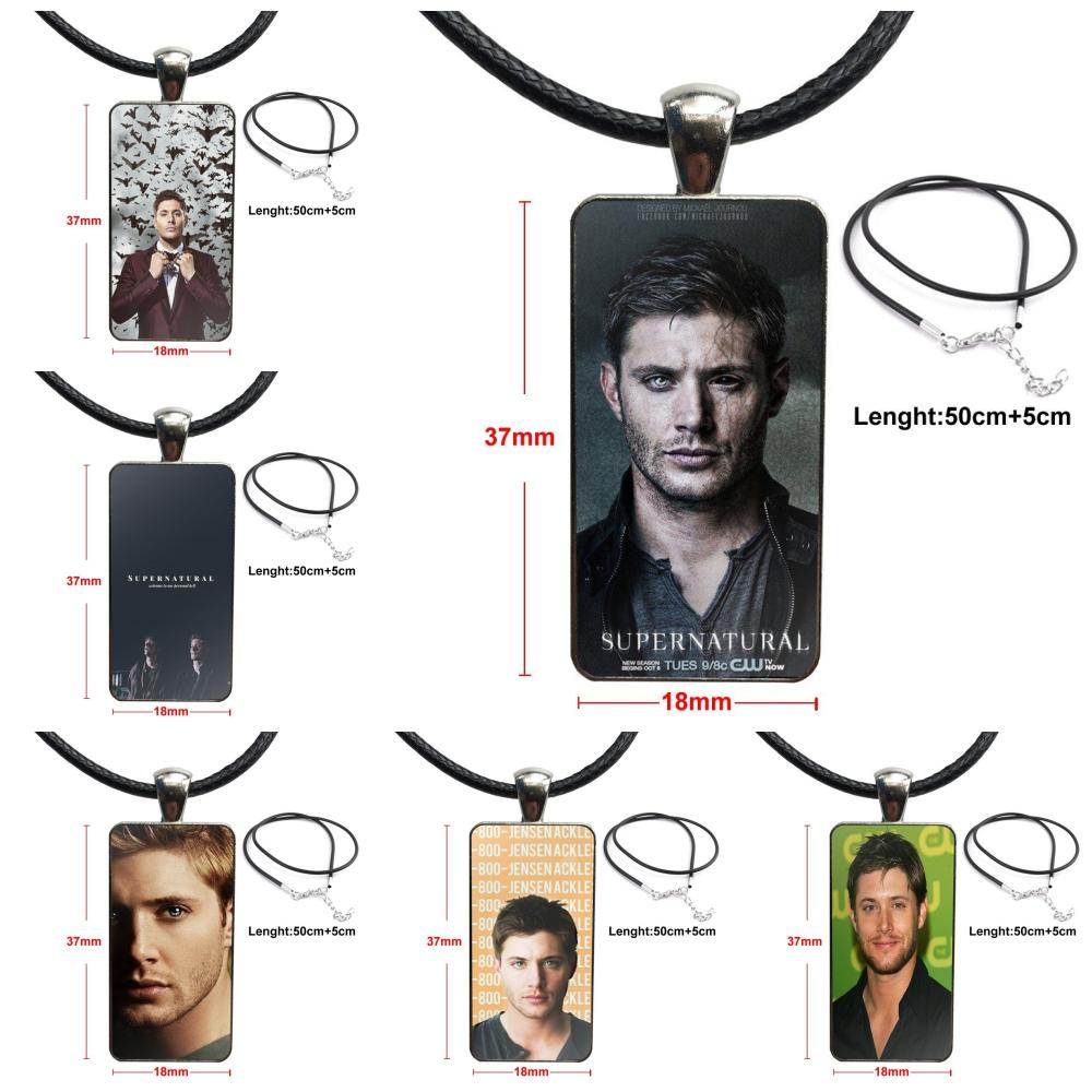 Necklace Fashion Long Chain With Rectangle Necklace Jewelry For Women Men Gifts