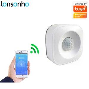Image 1 - Lonsonho Tuya Smart Wifi Pir Motion Sensor Alarm Infrarood Motion Detector Smart Leven App