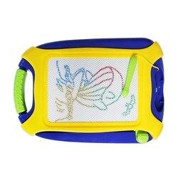 Magnetyczna tablica do rysowania  kolorowa tablica do pisania  kasowalna podkładka do szkicowania dla dzieci  zabawki do pisania malowania i uczenia się  przenośne