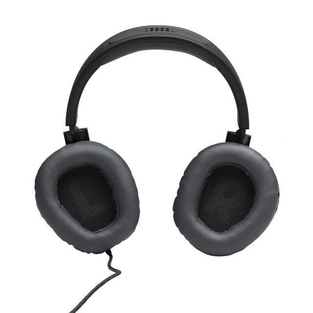Earphones & Headphones JBL JBLQUANTUM100 Consumer Electronics Portable Audio Video headset Earphone Headphone with microphone QUANTUM 100 for Video Game 96dB Wired Dynamic 3