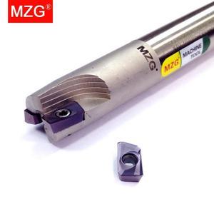 Image 2 - MZG inserto in metallo duro con inserto in metallo duro, spalla di taglio ad angolo retto, fresa di precisione