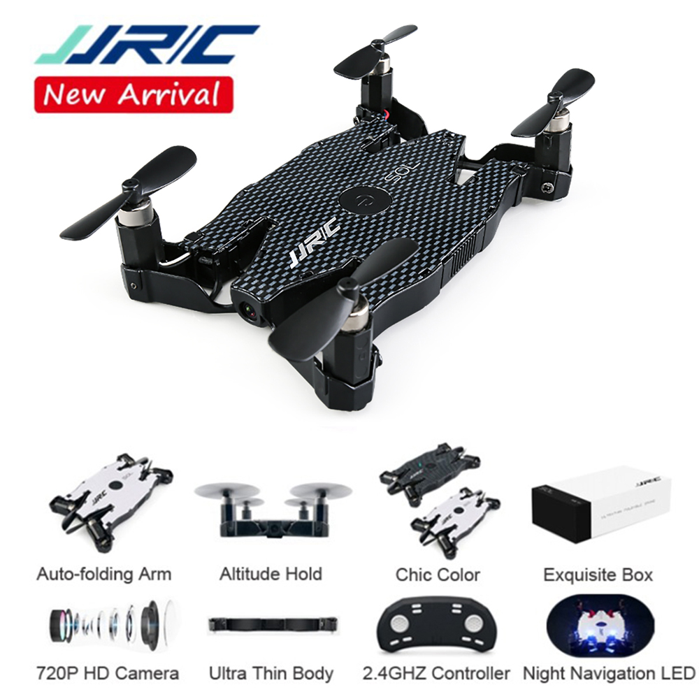 Foldable Mini Drone With 720P Camera  FPV WiFi Control Helicopter Pocket Portable RC Quadcopter Ultrathin Selfie Drone JJRC H49 αυτοκολλητα τοιχου καθρεπτησ