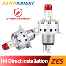 No Wire Harness H4 Led Headlight Lumilends Zes Chip Bulb In Car 15000LM 72W Direct Installation Lamp