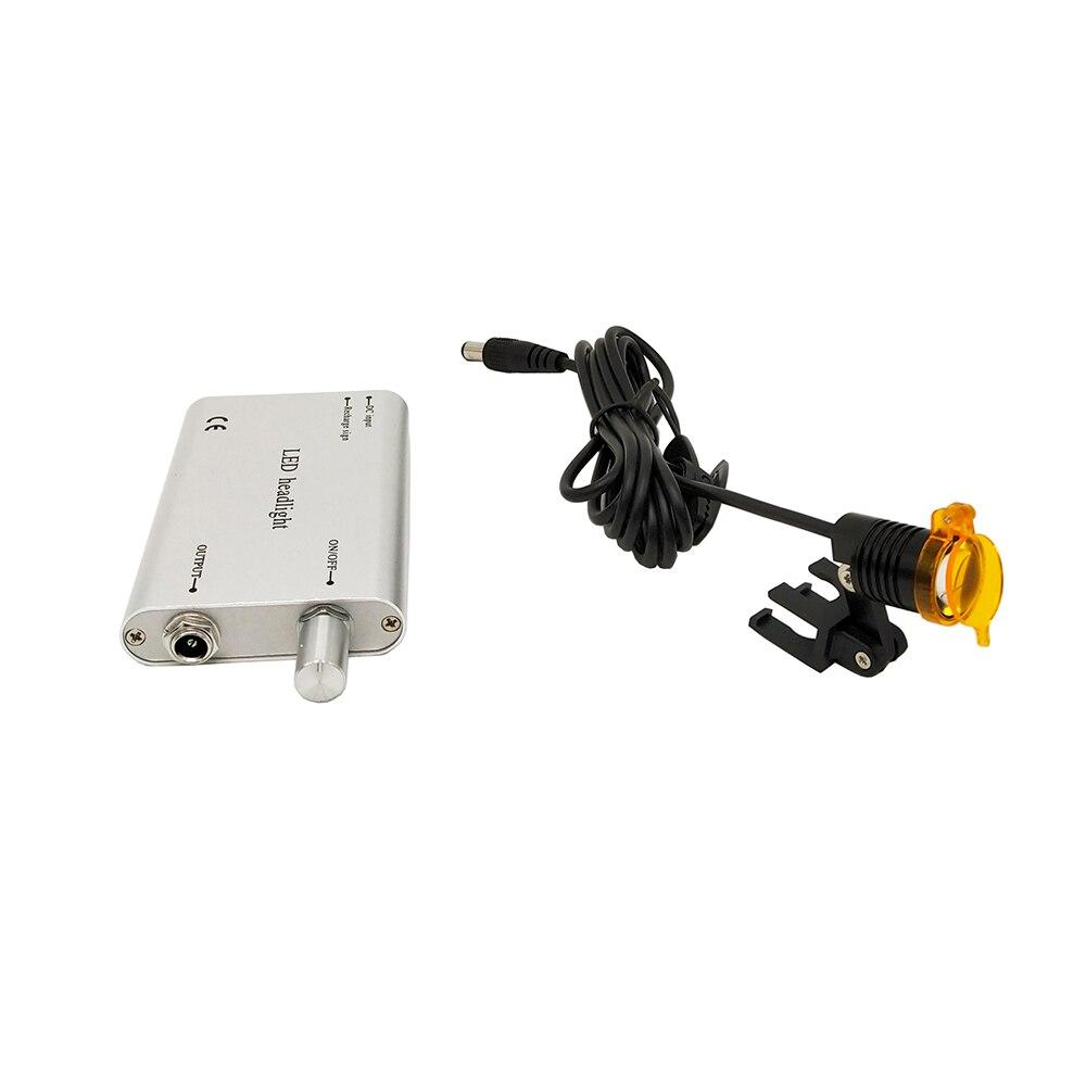 Image 5 - Dentist Tool Dental Equipment Portable LED head Light Lamp for  Dental Surgical Medical Binocular loupes Dental MagnifierTeeth  Whitening