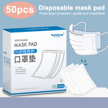 50pcs Mask Replaceable Filter Pad Disposable Antivirus COVID-19 Smog Prevention Hot 50pcs mask replaceable filter pad disposable antivirus covid 19 smog prevention hot