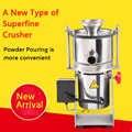 300 malha superfine moinho de medicina erval chinesa pulverizer superfine pulverizer máquina em pó pequeno elétrico à base de água