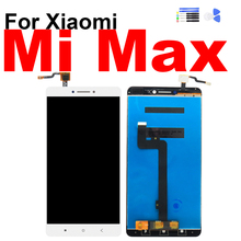 For Xiaomi Mi Max Display Touch Screen Digitizer LCD Assembly for Xiaomi Mi Max Screen with Frame Repair Replacement недорго, оригинальная цена