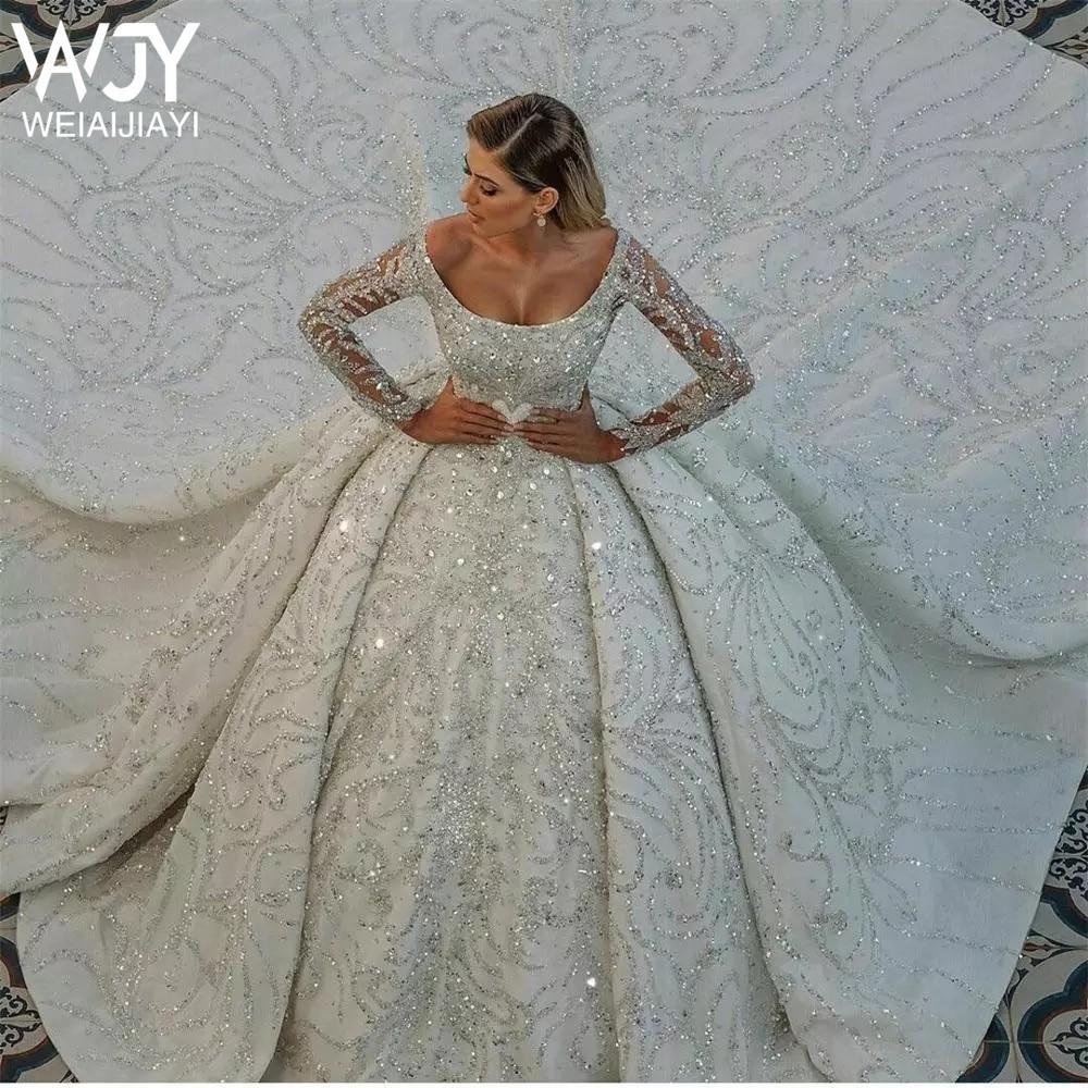 8            Luxury-Chapel-Train-Wedding-Dresses-Scoop-Neck-Long-Sleeve-Sequined-Arabic-Vintage-Bridal-Gowns-Robes-De.jpg_Q90.jpg_ (1)