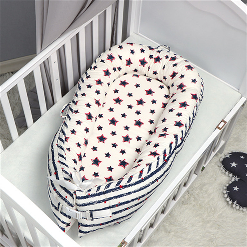 Portabel Baby Bed Nest Newborn Milk Sickness Bionic Bed Crib Cot Toddlers Sleeping Artifact Bed Travel Bed