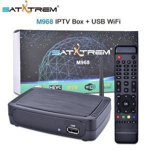 Satxtrem M968 IPTV Set-Top Box Full HD H.265 HEVC Youtube Media Player Европы Xtream код Испания Италия Германии, Аравия