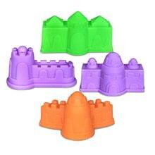 4 pièces bricolage bâtiment dynamique magique sable argile modèle jouets éducatifs intérieur magique jouer sable château modèles jouets de construction