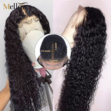 Brazilian Jerry Curl Lace Part Wigs Short Curly Lace Front Human Hair Wigs Pre-Plucked Wigs for Black Women